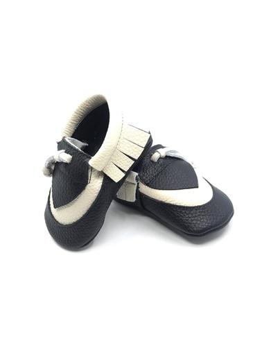 Moots Moots Siyah Bej Rectangle Ayakkabı Siyah